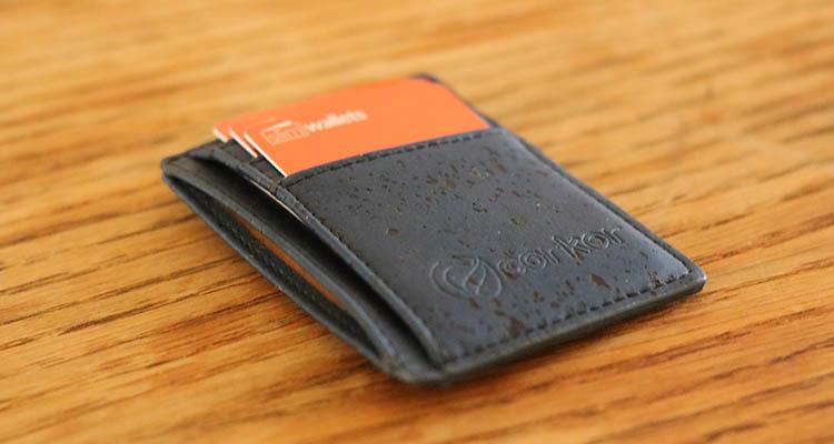 Front Pocket Cork Wallet by Corkor Review - Slim Wallets for Men