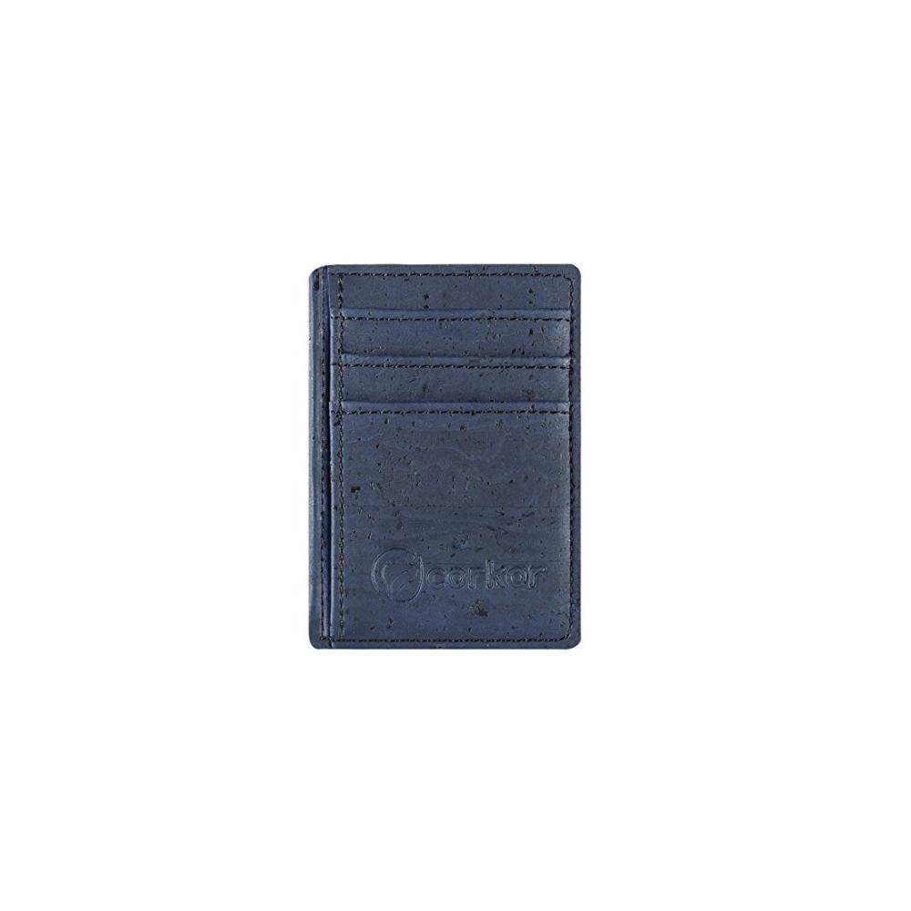 Corkor Front Pocket Cork Wallet Slim Wallets For Men